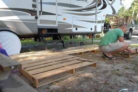 100 Truck Camper Steps How To Build A Portable Deck For RV Outdoorscartcom