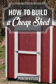 How To Build A Simple Shed Ramp by 10 Best Build Shed Images On Pinterest How To Build Garden