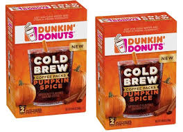 Dunkin Donuts Pumpkin Spice 2017 by Dunkin Donuts Cold Brew Coffee Only 2 89 At Target Reg 10