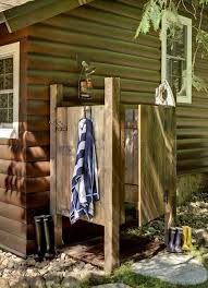 16 Super Creative DIY Outdoor Showers Save Water Great For The Garden And