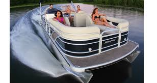 Aqua Patio Pontoon Bimini Top by Godfrey Boat Covers