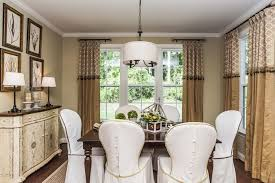 Ikea Curtain Rods Look Raleigh Traditional Dining Room Decoration Pertaining To Partial Designs 5