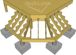 decks com building cascading or wrap around stairs