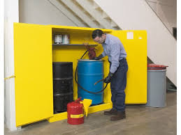 Flammable Liquid Storage Cabinet Grounding by Flammable Storage Cabinet 2 55 Gallon Drum Cb899100jr
