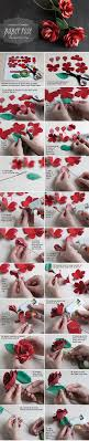 Long Stemmed Paper Rose Tutorial