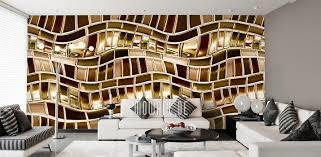 tapeten braun stylisches design mowade auf vliestapete