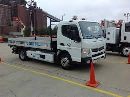 100 Mitsubishi Fuso Truck TEST DRIVE Canter Allelectric Truck Medium Duty