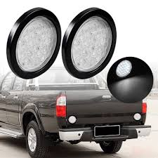 2X 4 INCH Round 24-LED Truck Trailer Tail Light Reverse Backup Lamp ... House Tuning Cree 60watt Diffused Flood Flush Mount Led Backup Light Backup Auxiliary Lighting Kit Installation Fits All Truck T15 921 912 W16w Canbus No Error Free Reverse White 201518 High Powered Lights F150ledscom Oracle 35001 Black 2019 Toyota 4runner Pair Pack Backup Lights For Land Cruiser Kdj 200 Olm 2015 Wrx Sti 2013 Brz 2009 2014 Maximus3 Install Review Offroaderscom 2018 Newset Bulb 0918 Dodge Ram Factory Replacement 2016 Silverado Auxiliary Youtube
