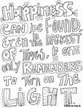 Quotes Coloring Pages For Doodle Page In Interactive