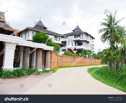 100 Thailand House Designs Design Withe Style Beautiful Stock Photo Edit Now