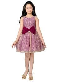 buy beige pink kids indowestern dress girls dress