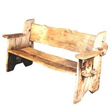 High Back Wooden Bench New Popular Of Rustic Bench With Back