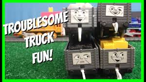 100 Trackmaster Troublesome Trucks Truck Fun Thomas And Friends Story