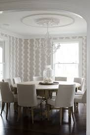 Interior Wallpaper Dining Room Modern Ideas Ideal Home Within 6 From