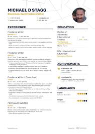 Freelance Writer Resume Samples [with 10 Examples]