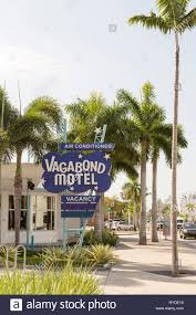 100 Miami Modern The Sign Outside The Vagabond Hotel In Classic
