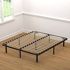 Amazon Handy Living Wood Slat Bed Frame Queen Kitchen & Dining