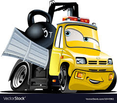 100 Tow Truck Vector Cartoon Royalty Free Image Stock