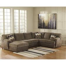 Hodan Sofa Chaise Art Van by Ashley Furniture Cladio Sectional In Hickory Space Saving