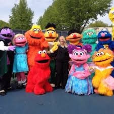 Sesame Place Halloween Parade by Sesame Place Christmas Parade Sesame Place Pinterest