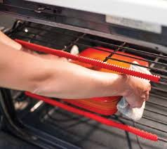 Set of 4 Silicone Oven Rack Guard Protectors Page 1 — QVC