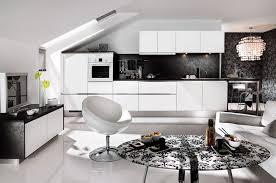 credence cuisine noir et blanc la cuisine blanche une tendance intemporelle inspiration cuisine