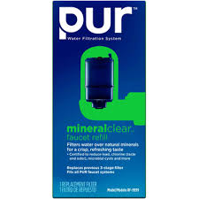 Pur Faucet Mounted Water Filter by Pur Faucet Mount Water Filtration System Mineralclear Replacement