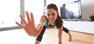 fitness fürs wohnzimmer zu hause top in form