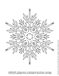 Awesome Snowflake Coloring Pages 86 On Free Book With
