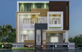 100 Modern House.com Artstation Two Storey House House Design 3d Elevation Panash Designs