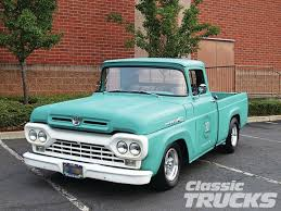 1960 Ford F100 | Wheels | Pinterest | Ford, Ford Trucks And Classic ... Why Nows The Time To Invest In A Vintage Ford Pickup Truck Bloomberg 1960 F100 Classics For Sale On Autotrader This Sema Build Will Make You Say What Budget Wheels Pinterest Trucks And Classic Ranchero Red Motormax 79321acr 124 F1 Street Legens Hot Rods The Show 2016 Youtube Ford 12 Ton Short Bed 460 Big Block Power C6 Frankenford With Caterpillar Diesel Engine Swap Classiccarscom Cc708566 To 1970 Trucks For Best Resource Nice Lowered Stance Satin Black Paint Job