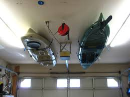 kayak ceiling hoist diy kayak storage maybe one day i ll give in and hang one in my