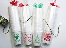 Styrofoam Christmas Cup Bulk Printing