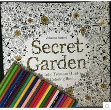 Secret GardenColoring Book Stress Relieving Patterns Kill Time Coloring For Adults And Children Free