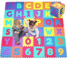 Amazon N Play Alphabet and Numbers Foam Puzzle Play