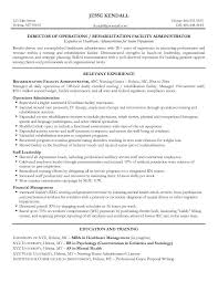 Rehabilitation Facility Administrator Of Result Driven With Resume Objective Examples For Healthcare And Relevant Experience In Nursing Center