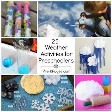25 Weather Theme Activities For Preschoolers