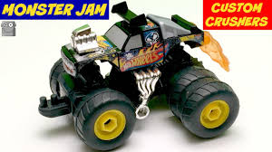 100 Team Hot Wheels Monster Truck MONSTER JAM CUSTOM CRUSHERS YouTube