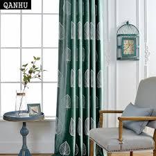 chambre bébé surface qanhu personnaliser fluff rideau feuilles motif marque conception
