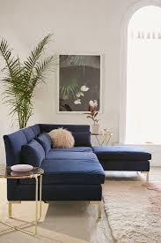 Ava Velvet Tufted Sleeper Sofa Uk by Cecilia Velvet Sectional Sofa Sectional Sofa Urban Outfitters