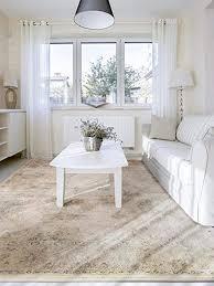 benuta vintage teppich im used look velvet taupe 120x170 cm moderner teppich für schlafzimmer und wohnzimmer