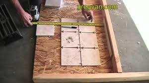 Snapstone Tile Home Depot by How To Measure Tile Next To Floor Trim Youtube