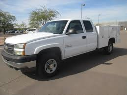 100 Duramax Diesel Trucks For Sale USED 2005 CHEVROLET SILVERADO 2500HD SERVICE UTILITY TRUCK