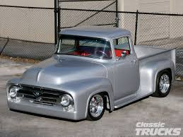 100 50 Ford Truck 1956 F100 Pickup Hot Rod Network