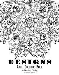 Mandala Boho Designs Adult Coloring Book GoGetGlam