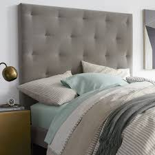 Diamond Tufted Headboard With Crystal Buttons by Modern Headboards U0026 Platform Beds West Elm