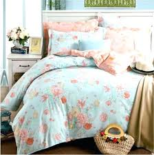 Plain Duck Egg Blue Bedding Sets Pink Brown 3pieces Color Solid