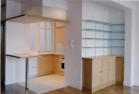 amibois cuisine et plafond suspendu