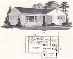 The Retro Home Plans by Mid Century Ranch Plans Retro Home Designs By Weyerhauser