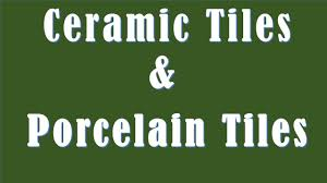 difference between ceramic tiles and porcelain tiles ceramic